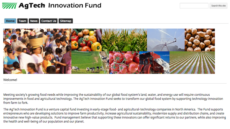 agTech Innovation Fund