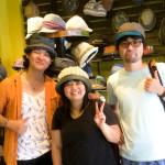 チェンマイを拠点に展開する帽子ブランド「Hat Labo Jam」の西周さんにお会いしました!