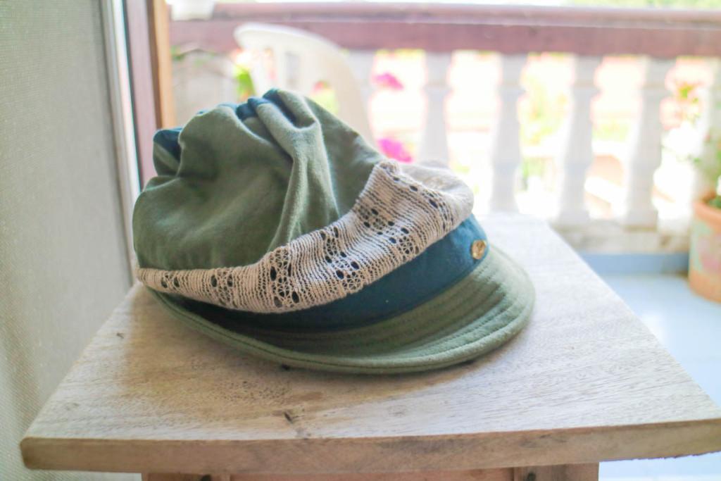 購入した帽子2
