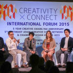 Creativity Connect International Forum 2015に参加してきました