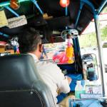 チェンマイのトゥクトゥクはたまに乗ると楽しい【動画あり】