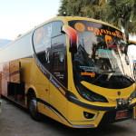 バガンからヤンゴンへ。高速バスで8時間の旅