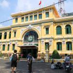 ホーチミンのサイゴン中央郵便局で、国際郵便物を出してみた