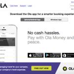 ソフトバンクも出資!Uberの最大のライバルと言われるインドの配車アプリ「Ola cabs」を使ってみた