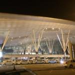インド・バンガロール空港(ケンペゴウダ国際空港)に到着